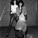 Stiv Bators et Joey RamoneMilton Keynesjuin 1988