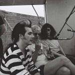 Dave Vanian, Captain Sensible et Joey Ramone Milton Keynesjuin 1988